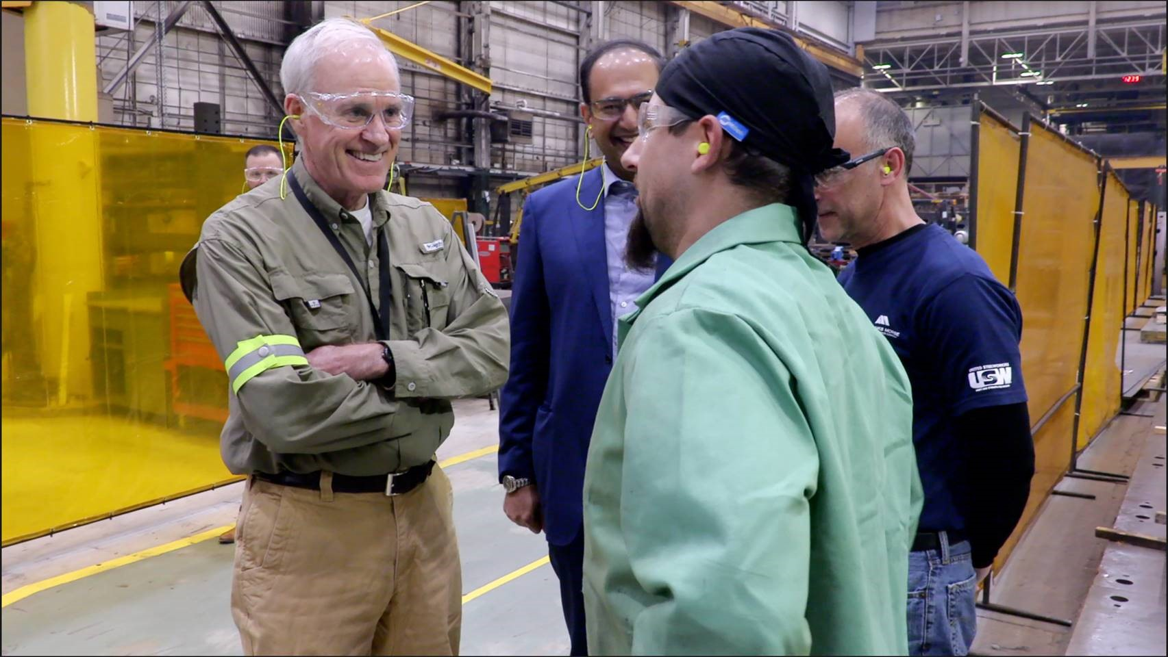 US Secretary of the Navy Honorable Richard V. Spencer Visits Fairbanks Morse's Beloit Facility