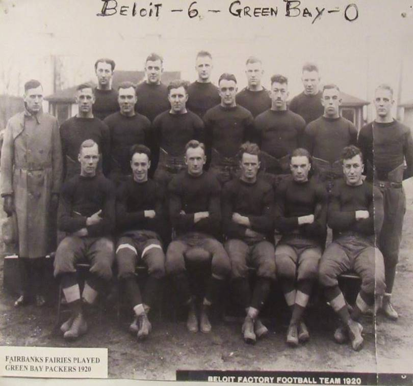 Piece of History: Fairbanks Morse Fairies Take on Green Bay Packers (II)