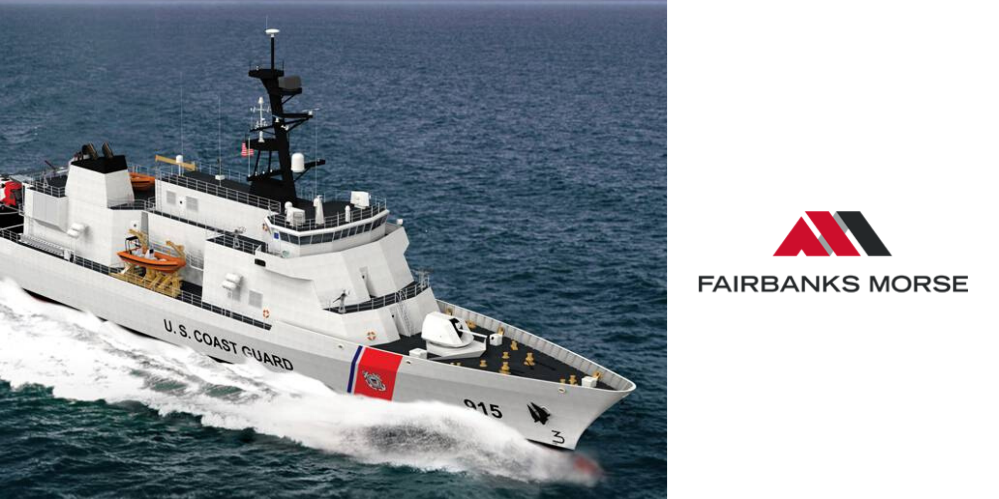 Fairbanks Morse to Power US Coast Guard's Offshore Patrol Cutter (USCGC) INGHAM