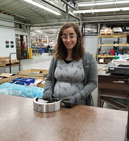 Women in Manufacturing: Meet Ashley Graves, One of Our Quality Inspectors in Nuclear Dedication!