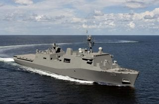 Fairbanks Morse Engine to Provide Propulsion for United States Navy's San Antonio Class Ship - LPD 29