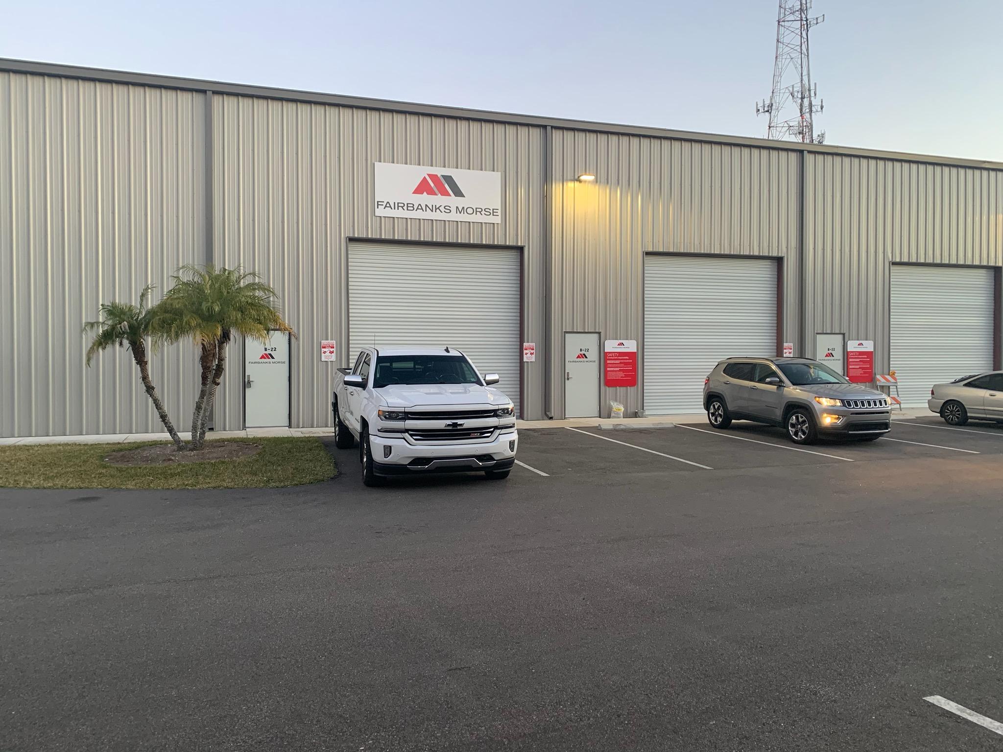 Fairbanks Morse Opens 8,000-Square-Foot Mayport Service Center