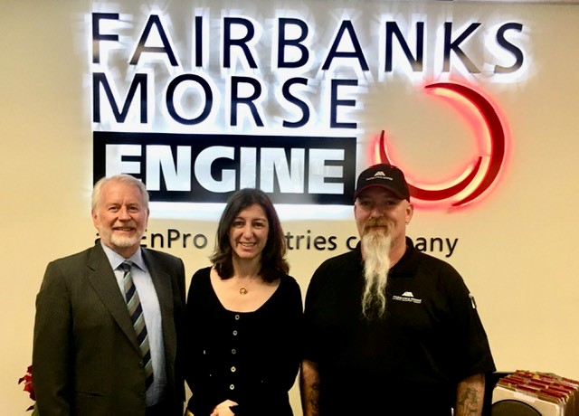 U.S. House Representative Elaine Luria Visits Fairbanks Morse Norfolk, VA Service Center