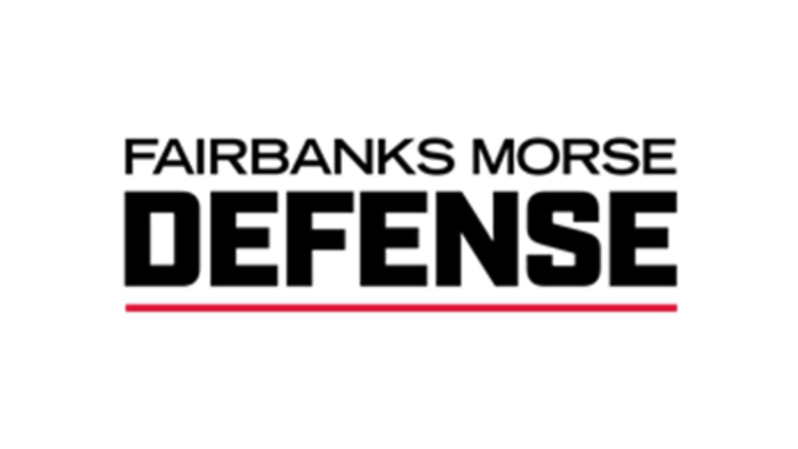 Fairbanks Morse is now Fairbanks Morse Defense