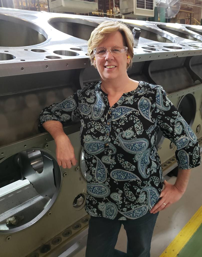 Women in Manufacturing: Meet a Team Member who Powers Our Projects Forward!